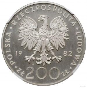 200 złotych, 1982, mennica w Szwajcarii; Jan Paweł II; ...