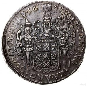 Talar, 1655, Szczecin; Aw: Popiersie władcy zwrócone pr...