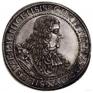 Talar, 1671, Brzeg; Aw: Popiersie księcia zwrócone w pr...