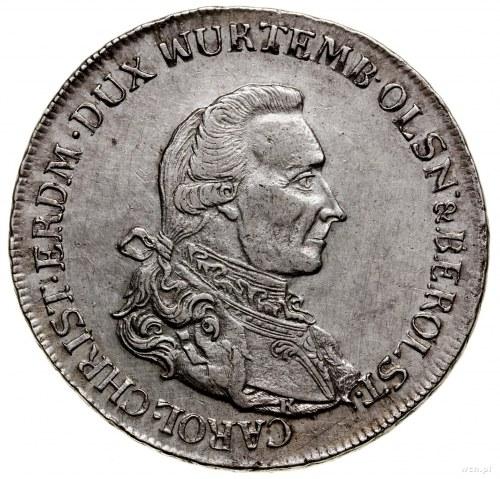 Talar, 1785 B, Wrocław; Aw: Popiersie w prawo z literą ...