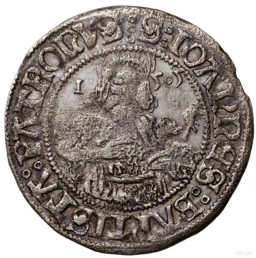 Grosz, 1505, Wrocław; Aw: Lew czeski, wokoło napis MONE...