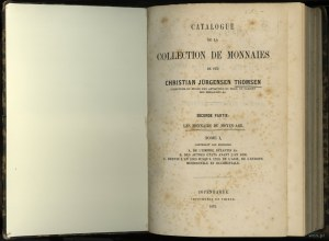 Jürgensen Thomsen Christian – Catalogue de la Collectio...