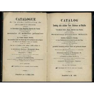 Leopold Hamburger, Catalog der Sammlung schön erhaltene...