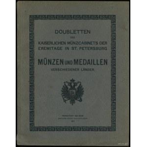 Adolph Hess Nachfolger, Doubletten des Kaiserlichen Mün...