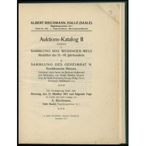 Albert Riechmann, Auktions-Katalog II enthaltend: I. Sa...