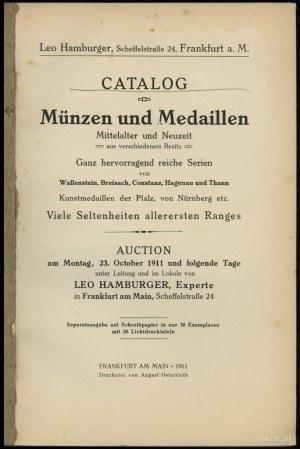 Leo Hamburger, Catalog Münzen und Medaillen Mittelalter...