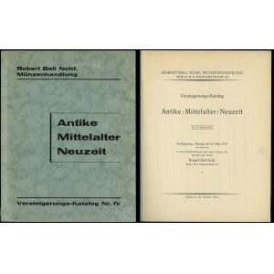 Robert Ball Nachf., Versteigerungs-Katalog Antike / Mit...