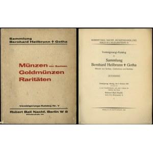 Robert Ball Nachf., Versteigerungs-Katalog der Sammlung...