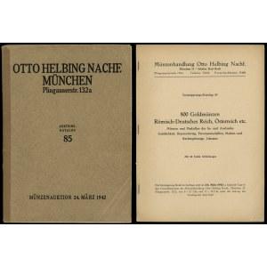 Otto Helbing Nachf., Versteigerungs-Katalog 85. 800 Gol...