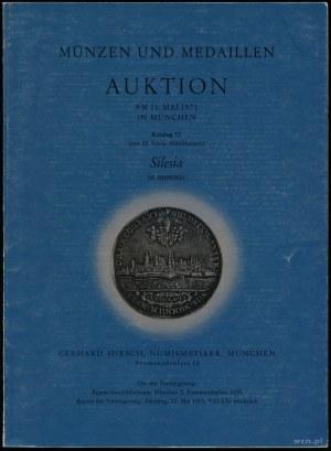 Gerhard Hirsch, Auktion 72. Silesia in nummis; München,...