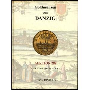 Hess-Divo AG, Auktion 288. Goldmünzen von Danzig; Zuric...