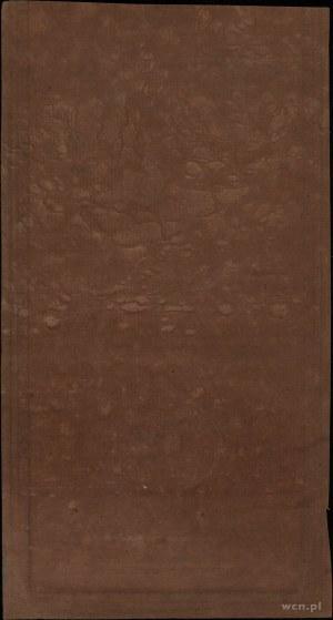 50 złotych, 8.06.1794; seria B, numeracja 30210, papier...