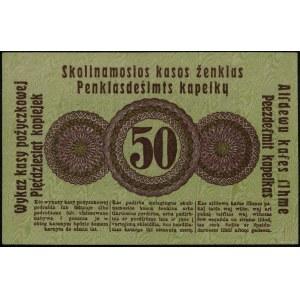 50 kopiejek, 17.04.1916, Poznań; bez oznaczenia serii i...
