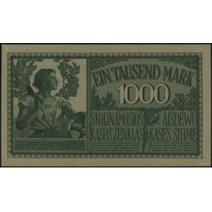 1.000 marek, 4.04.1918, Kowno; seria A, numeracja sześc...
