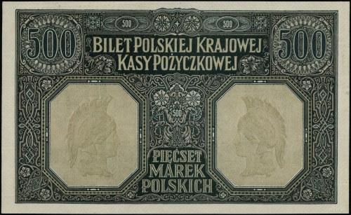500 marek polskich, 15.01.1919; bez oznaczenia serii i...