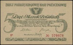 5 marek polskich, 17.05.1919; seria IP, numeracja 57997...