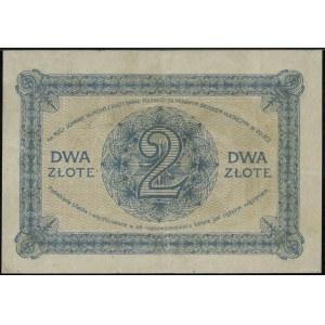 2 złote, 28.02.1919; seria jednocyfrowa 2.A, numeracja ...