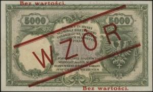 5.000 złotych, 28.02.1919; seria A, numeracja 268021, p...