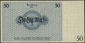50 marek, 15.05.1940; numeracja 052049; Lucow 868 (R6),...