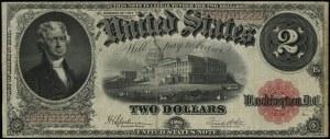 Legal Tender Note; 2 dolary, 1917; seria B 59791222 A, ...