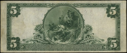 National Currency; The First National Bank of City of N...