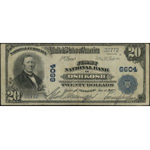 National Currency; First National Bank in Oshkosh - Wis...
