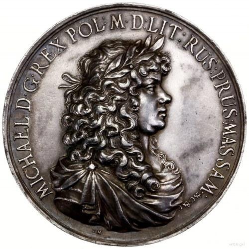 Medal na pamiątkę przymierza Polski iAustrii przeciwko...
