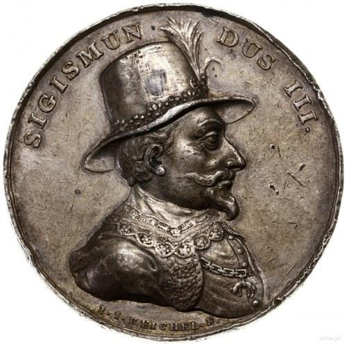 Medal z serii królewskiej – Zygmunt III Waza, ok. 1792–...