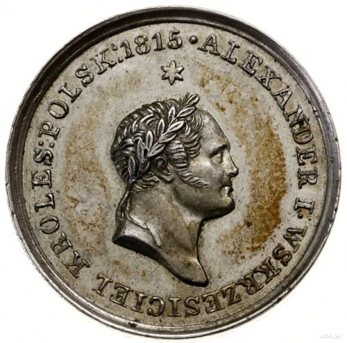 Medal na pamiątkę śmierci cara Aleksandra I, 1826; Aw: ...