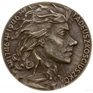 Medal na pamiątkę 200. rocznicy urodzin Tadeusza Kościu...