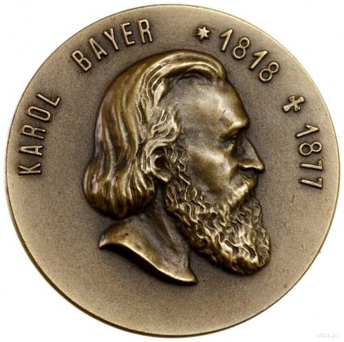 Beyer Karol (1818–1877); Medal na pamiątkę 35. rocznicy...