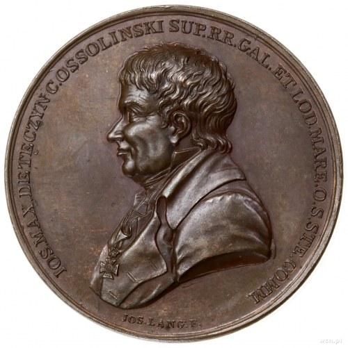 Ossoliński Józef Maksymilian (1748–1826); Medal na pami...
