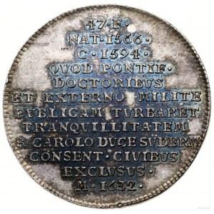 Berch Carl Reinhold (1706–1777); Medal z serii królewsk...