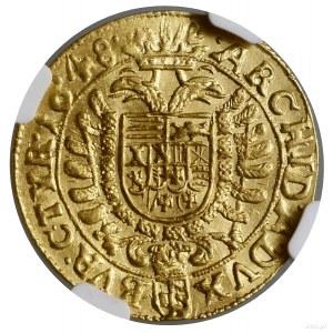 Dukat, 1648, mennica Wiedeń; ze znakiem menniczym Johan...