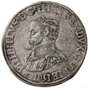 Geldria; Talar (Daalder), 1561; Aw: Popiersie w lewo, P...