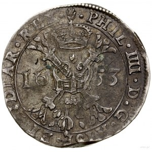 Brabancja; Patagon, 1633, mennica Antwerpia; Davenport ...