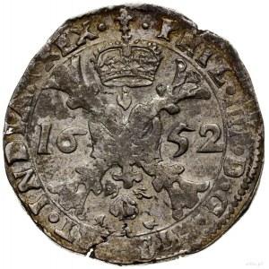 Flandria; Patagon, 1652, mennica Brugia; Davenport 4464...