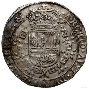 Brabancja; 1/4 patagona, 1633, mennica Antwerpia; Delmo...