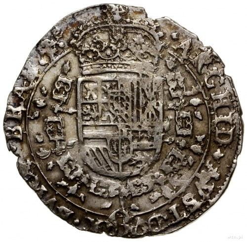 Brabancja; 1/4 patagona, 1645, mennica Antwerpia; Delmo...