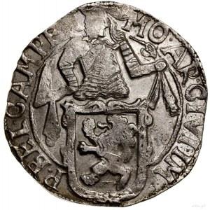 Talar lewkowy (Leeuwendaalder), 1648; Aw: Rycerz stojąc...