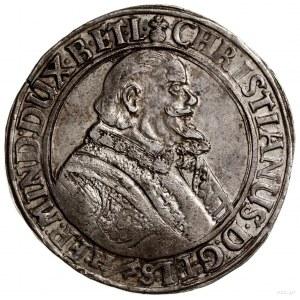 Talar,1627, mennica Clausthal; Aw: Popiersie władcy w p...