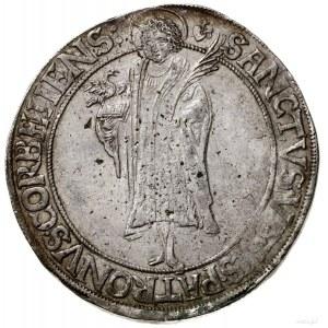 Talar, 1632, mennica Höxter; Aw: Herb w owalnym, ozdobn...