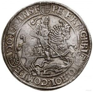 Talar (24 grosze), 1572, mennica Eisleben; Aw: Święty J...