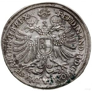 Talar, 1630, mennica Norymberga; Aw: Kartusz z herbem m...