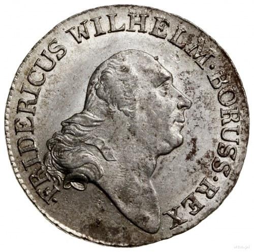 4 grosze (1/6 talara), 1796 A, mennica Berlin; Olding 5...