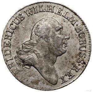 4 grosze (1/6 talara), 1797 A, mennica Berlin; Olding 5...