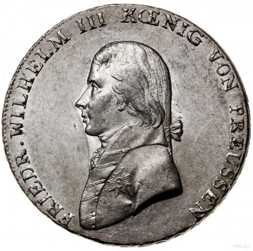 Talar, 1802 A, mennica Berlin; Aw: Popiersie władcy w l...