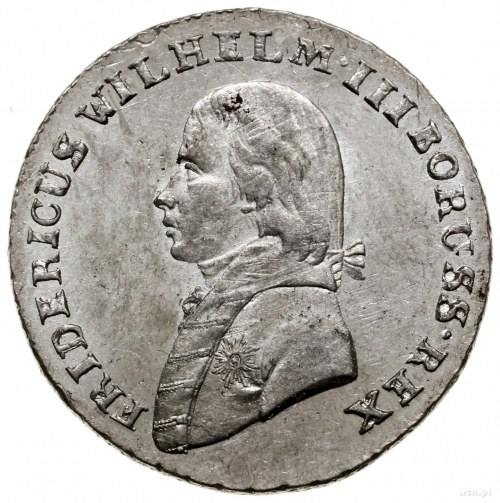 4 grosze (1/6 talara), 1802 B, mennica Wrocław; Olding ...