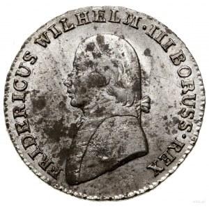 4 grosze (1/6 talara), 1805 A, mennica Berlin; Olding 1...