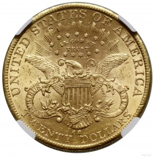 20 dolarów, 1885 CC, mennica Carson City; typ Liberty H...